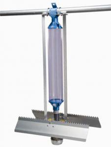 Rotrafeeder with dispenser